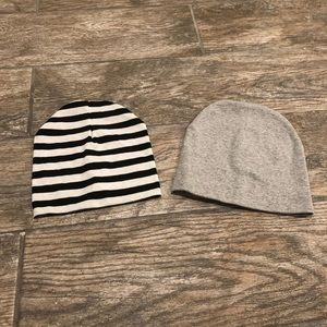 Other - Set of 2 baby/toddler beanies- barely worn